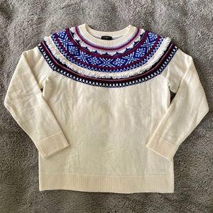 Cream Crewneck sweater